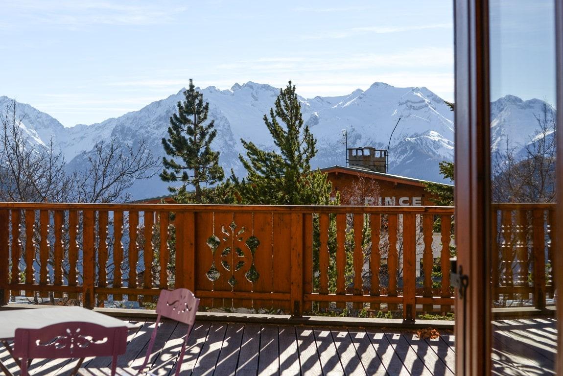 Chambre luxe: magnifique vue sur les montagnes