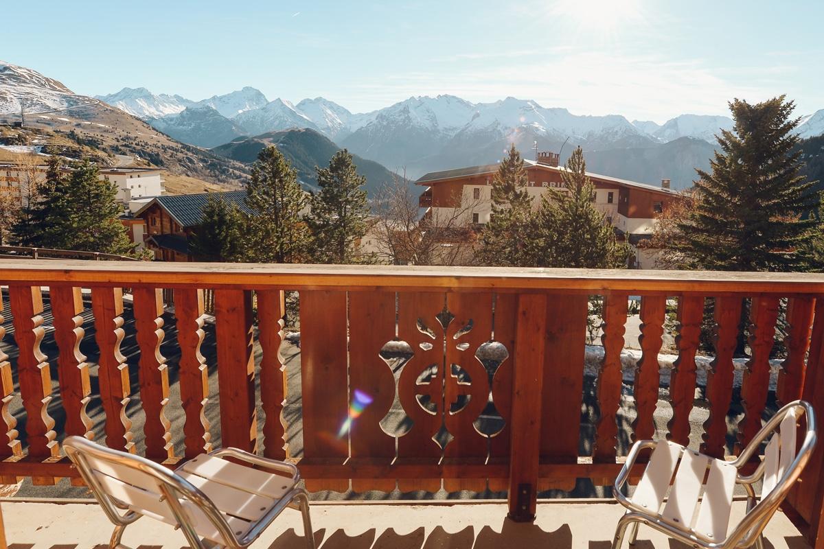 Chambre Classique: vue sur les montagnes